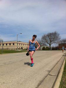250m Kettlebell run